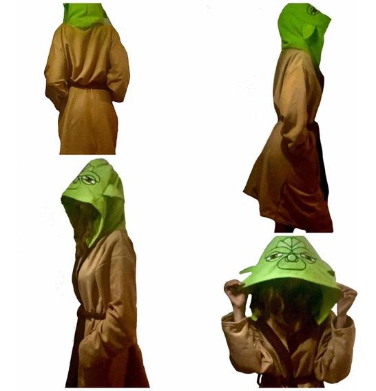 Yoda Bata Star Wars Bata De Baño Adulto Unisex