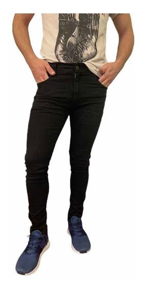 Pantalon Jean Chupin De Hombre Shaffe Co