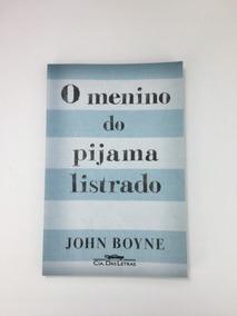 O Menino Do Pijama Listrado - Livro Novo
