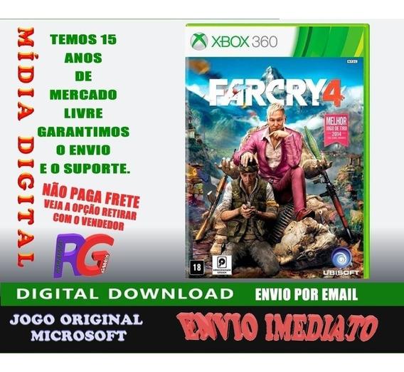 Far Cry 4 Midia Digita Xbox 360 Roraima Games