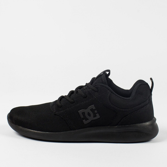 Tênis Runner Dc Shoes Midway Black Total Original