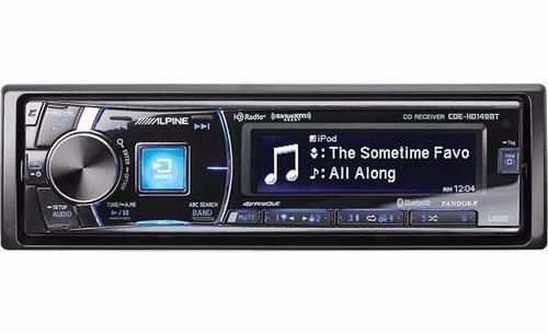 Imagen 1 de 7 de Auto Estereo Alpine 149bt Bluetooth , Aux , Usb , Cd ,fm