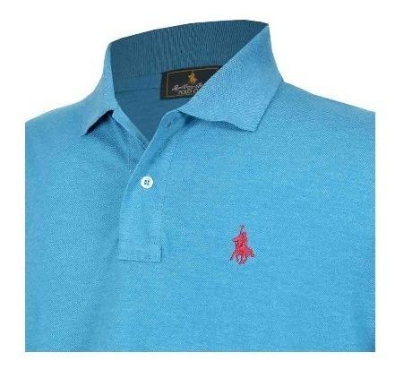 Playera Polo Club, En Jaspe 10 Colores Diferentes
