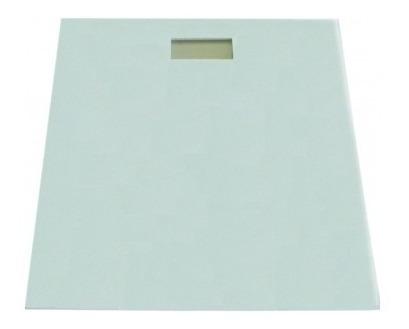 Báscula Electrónica De Baño Blanco Antiderrapante Silverline