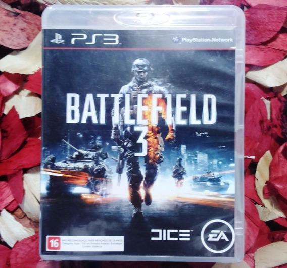 Battlefield 3 Mídia Física Impecável Ps3 Frete Cr R$ 11,98