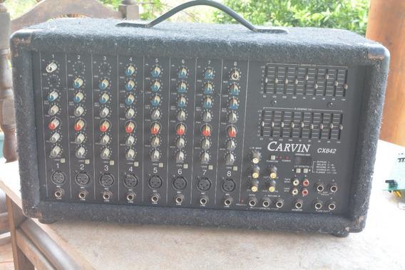 Mesa De Som Cabeçote Amplificado Carvin Cx842 Euap/consertar