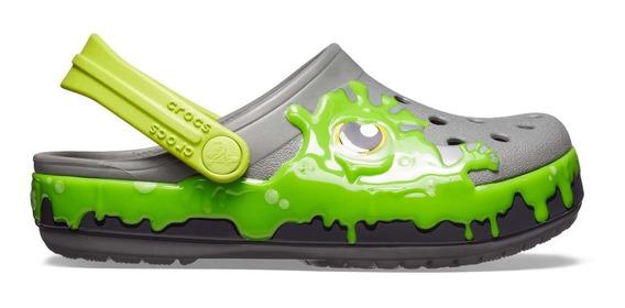 Zapato Crocs Niño Fun Lab Slime Verde