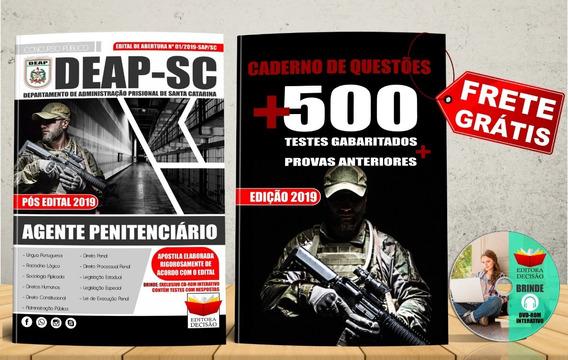 Apostila Agente Penitenciário Deap - Sc 2019 Atualizada
