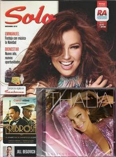 Thalia - Valiente (cd Nuevo + Revista Solo Sanborns)