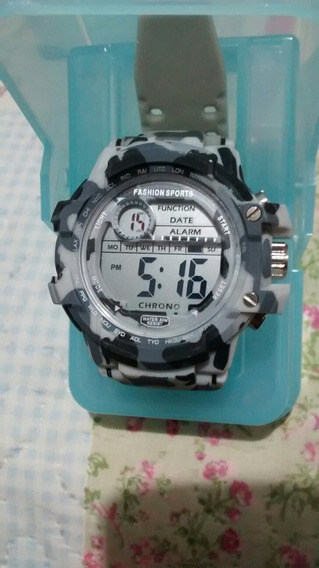 Relógio Masculino Camuflado Militar Exército Russo