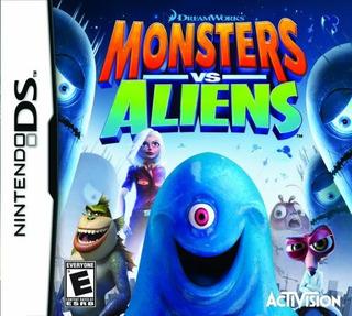 Monsters Vs Aliens Nintendo Ds