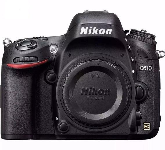 Nikon D610 Corpo Full Frame - Nota Fiscal
