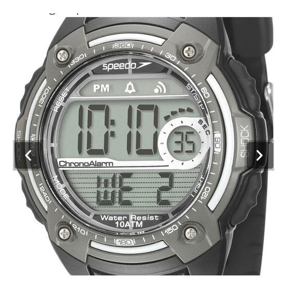 Relógio Pulso Masculino Digital Crono Speedo 80581g0evnp2