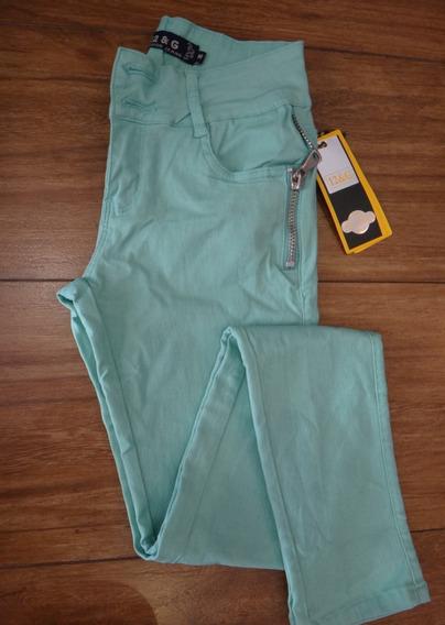 Calça Jeans Color Verde