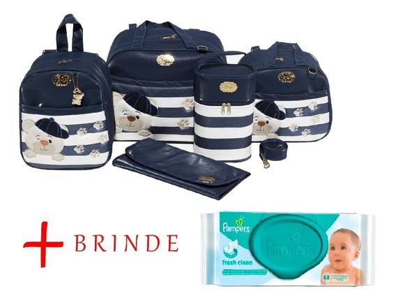 Promoção Kit Bolsa Maternidade Urso 5p Gaby Mundo Infantil