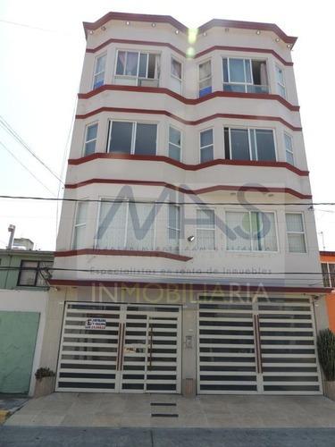 Venta Hermoso Departamento Edificio Estilo Victoriano Prado Vallejo, Tlalnepantla, Estado De México