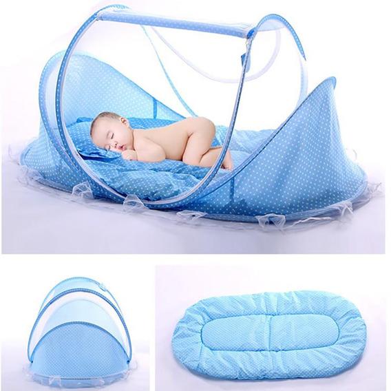 Mosquiteiro Portátil | Cama Berço | Cercadinho Bebê | Musica