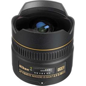 Lente Profissional Nikon Fisheye Af Dx 10.5mm F/2.8g ** Ed