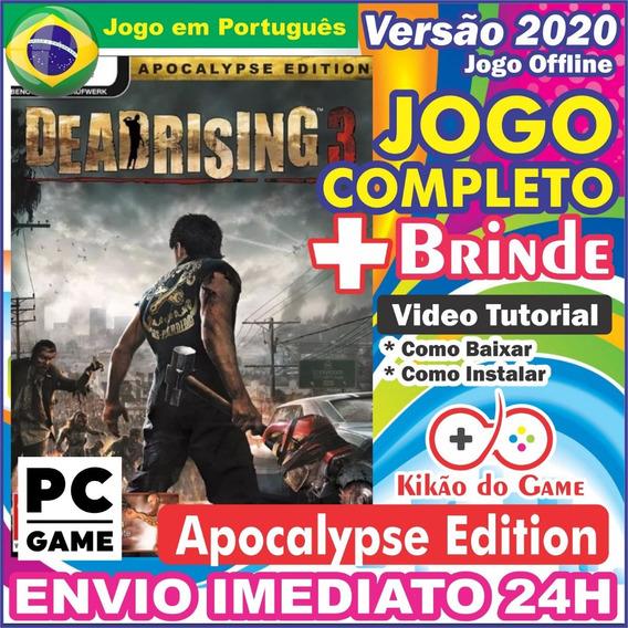 Dead Rising 3 Apocalypse Edtion Pc Digital Br + Brinde