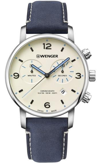 Relógio De Pulso Urban Metropolitan Chrono Wenger 01.1743119