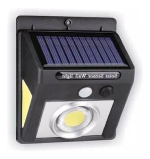 Reflector Solar 90 Led Luz Exterior Sensor Farol Ahorro