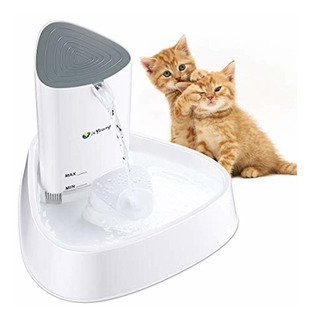 Isyoung Cat Fountain Led Pet Water Ultra