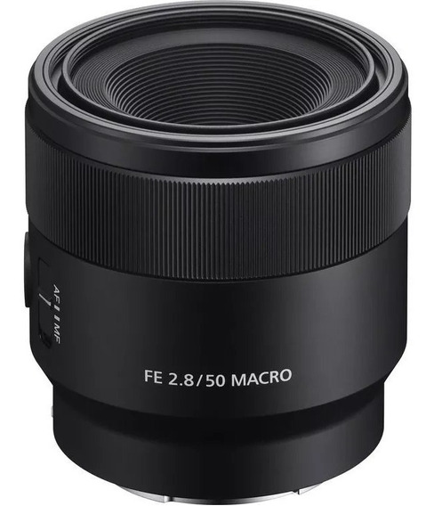 Lente Sony Fe 2.8 / 50 Mm Macro