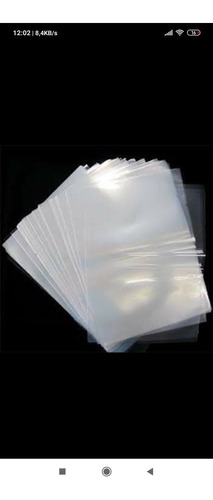 Sacos Plásticos Pp Com Abas Adesivas Transparente
