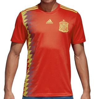 Jersey Oficial España adidas Hombre Roja Fef H Jsy Cx5355