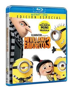 Mi Villano Favorito 3 Blu-ray + Dvd De Universal