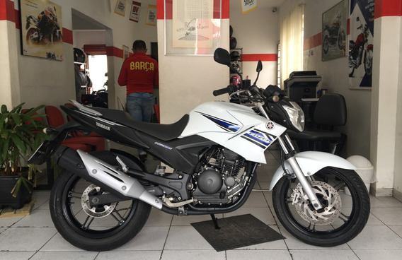 Yamaha Ys 250 Fazer Branca 2014