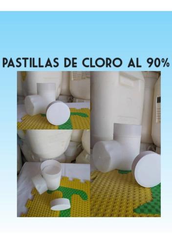 Pastillas De Cloro Al 90% Para Piscinas, Blíster De 5.