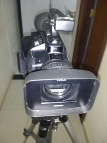 Camera Filmadora Panasonic Ag-hmc40p + Tripé De Gravação.