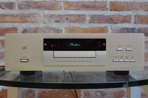Cd Player + Dac Stereo Marca Accuphase Modelo Dp-67