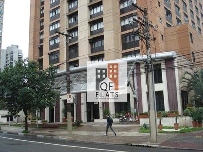 Flat Com 1 Dormitório Para Alugar, 43 M² Por R$ 1.800/mês - Vila Clementino - São Paulo/sp - Fl1251