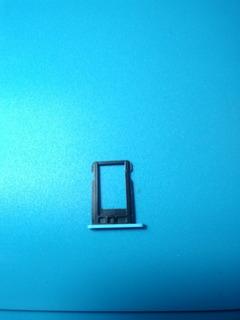 Bandeja Gaveta Slot Chip Sim iPhone 5c Azul Blue