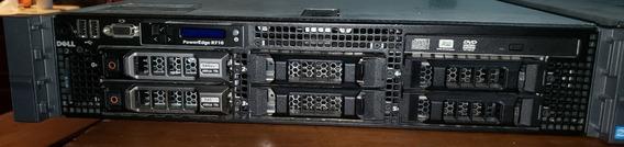 Servidor Dell Poweredge R710 - 12gb Ddr3 - 2xhd450gb Xeon2.4