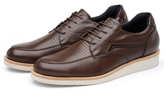 Sapato Casual Masculino Couro Numero Grande Avalon Ben Cores