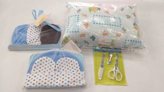 Kit De Regalo Para Bebé Con 9 Artículos