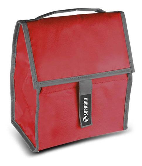 Bolsa Térmica Com Gel 5 Litros Soprano - Vermelho