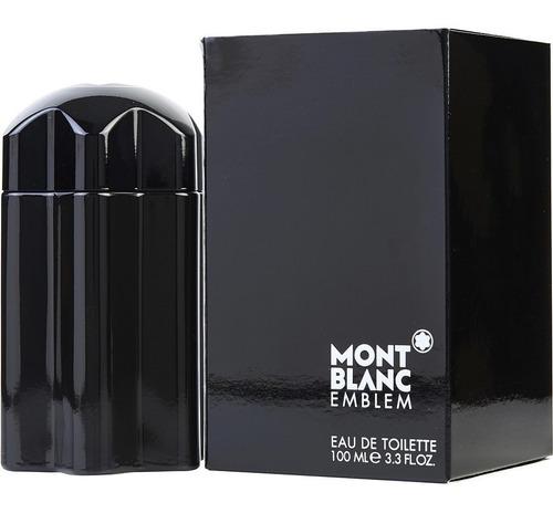 Perfume Loción Mont Blanc Emblem Sella - mL a $700