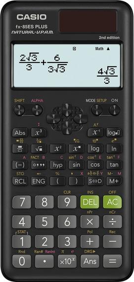 Calculadora Científica Casio Fx-85es Plus 2ª Ed 252 Funções