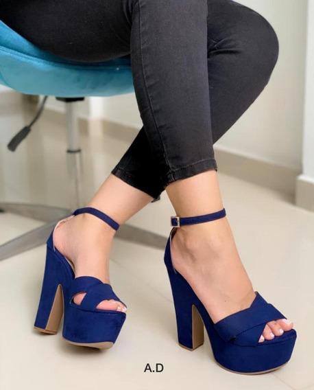 Zapatos Zandalias Tacon Dama Mujer Colombianos