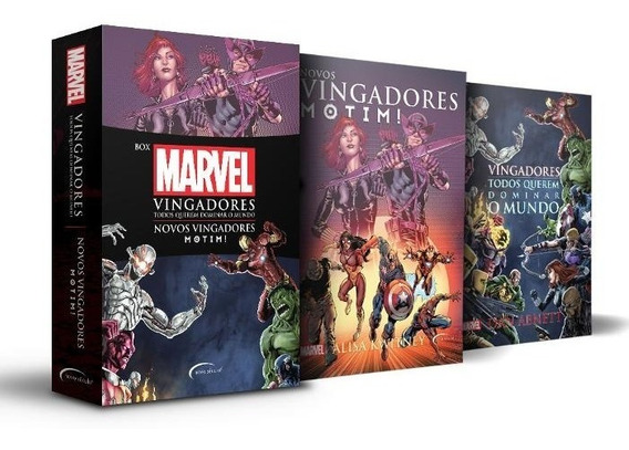 Box Marvel Guerra Civil + Poster Exclusivo De Colecionador