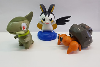 Lote Mc Donalds 3 Muñecos Pokemon