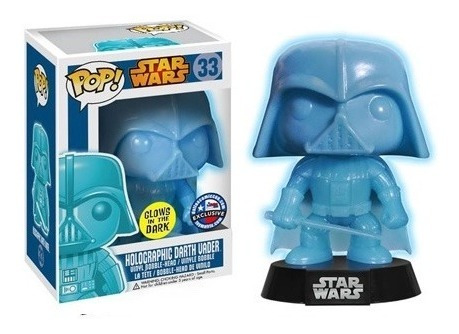 Funko Pop Star Wars Darth Vader Glow Gidt Exclusivo Raro