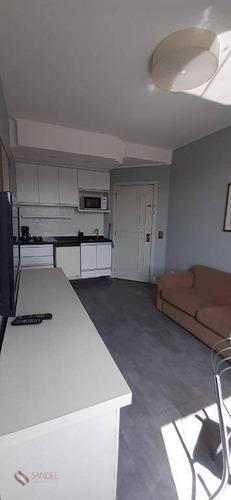 Flat Com 1 Dormitório E 1 Banheiro Para Alugar, 40 M², Bairro Do Morumbi - São Paulo (lm) - Fl0006