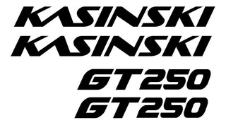 Adesivo Moto Kasinski Comet Gt 250 650 Tanque Rabeta