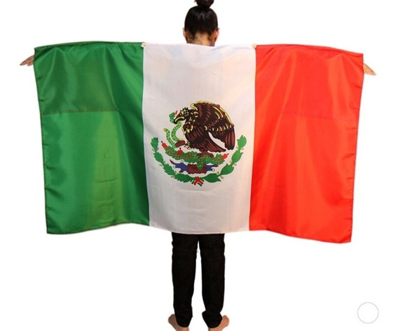 Bandera Mexico, Colombia, Argentina Mundial Rusia 2018