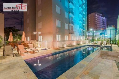 Apartamento Com 3 Dormitórios À Venda, 60 M² Por R$ 440.000,00 - Limão (zona Norte) - São Paulo/sp - Ap2718